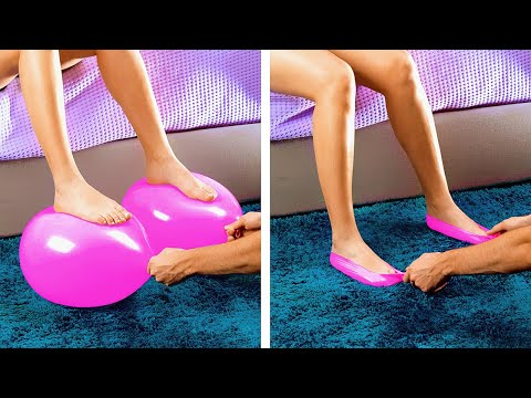 34 AMAZING BALLOON TRICKS || EASY MAGIC TRICKS YOU CAN DO