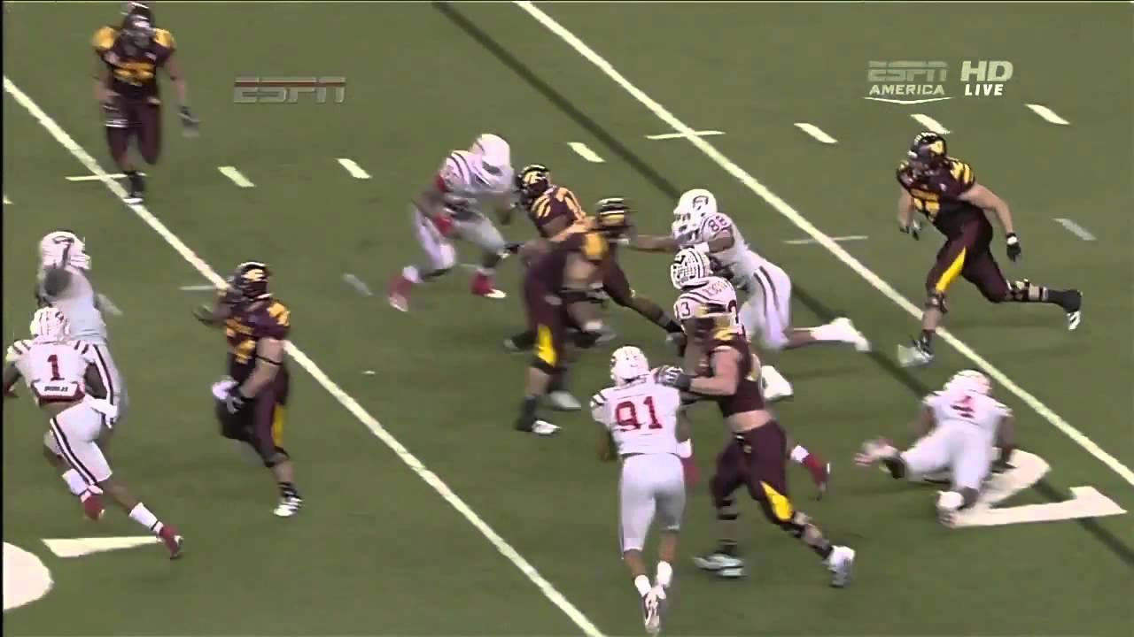 Eric Fisher vs Western Kentucky (2012 Bowl)
