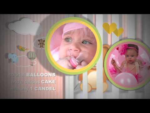 Birth Announcement – Baby Photo Album – AE Template | Videohive
