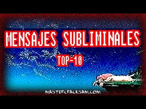 LOS 10 MENSAJES SUBLIMINALES MAS ATERRADORES - TOP 10