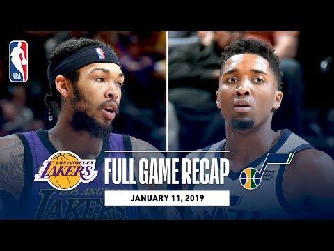 Video: Full Game Recap: Lakers vs Jazz | Donovan Mitchell Drops 33 Against Los Angeles