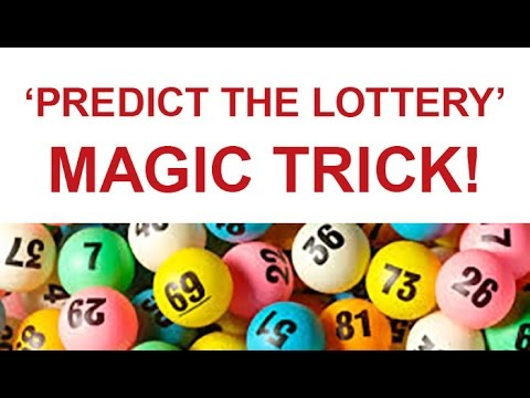 Learn How to 'Predict the Lottery' Magic Trick