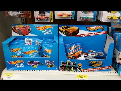 models - I show the complete set of 12 models in this batch! With the Hot Wheels Mystery Models, also known as Pillow Packs, I don't buy every one. I pick and choose models that I want to collect. However,...