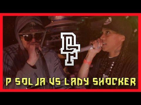 P SOLJA VS LADY SHOCKER | DON'T FLOP GRIME CLASH @DontFlop @PSolja @LadyShocker