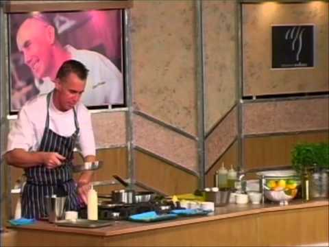 Gary Rhodes on board ORIANA