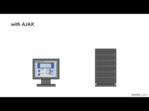 JavaScript and AJAX tutorial: What is AJAX? | lynda.com