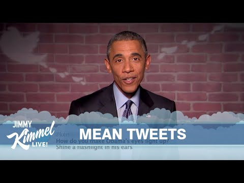 Mean Tweets - President Obama Edition