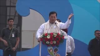 Hon'ble CM Sarbananda Sonowal's speech at NamamiBrahmaputra