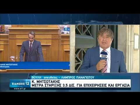 Μέτρα στήριξης για επιχειρήσεις και εργασία ανακοίνωσε στη Βουλή ο Πρωθυπουργός | 03/07/2020 | ΕΡΤ