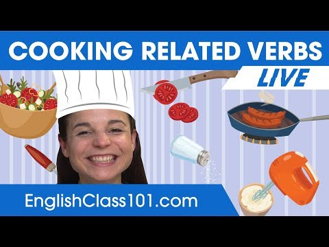 Must-Know English Cooking Verbs & Phrases - Learn English Vocabulary 🔴