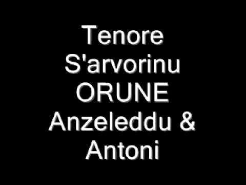 Tenore S'arvorinu  Orune  Anzeleddu & Antoni