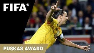 FIFA Puskas Award 2013: Zlatan Ibrahimović (WINNER)
