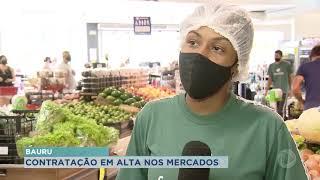 Contratação no setor supermercadista cresce na pandemia