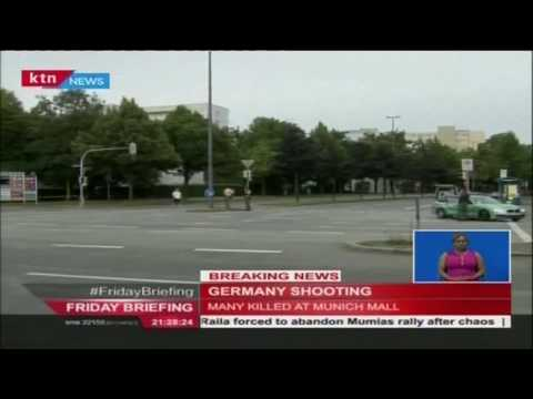 Gunmen goes on a shooting rampage in Germany leaving many people dead