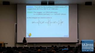 Thermodynamics and Chemical Dynamics: Lec 9. The First Law (review)&Adiabatic Processes Part II
