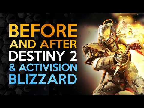 Before And After - Destiny 2s Monumental Split From Activision Blizzard
