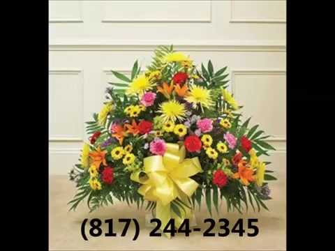 Funeral Flowers Fort Worth – 817-244-2345