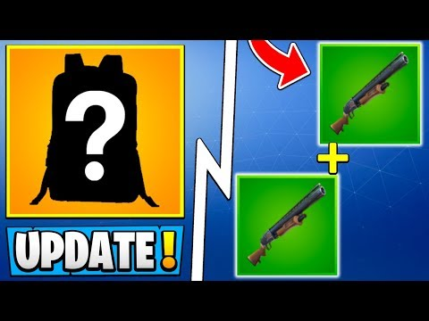 *HUGE* Fortnite 5.3 Update! | Secret New Item, Double Pump, Road Trip Skin!