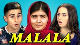 Video Teens React to Malala Yousafzai MP3, 3GP, MP4, WEBM, AVI, FLV Mei 2018