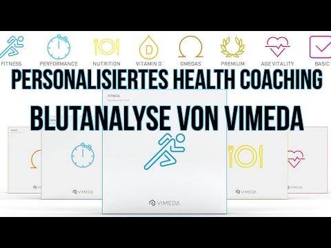 VIMEDA Fitness Test: Individuelles Biomarker Profil | Review & Vorstellung