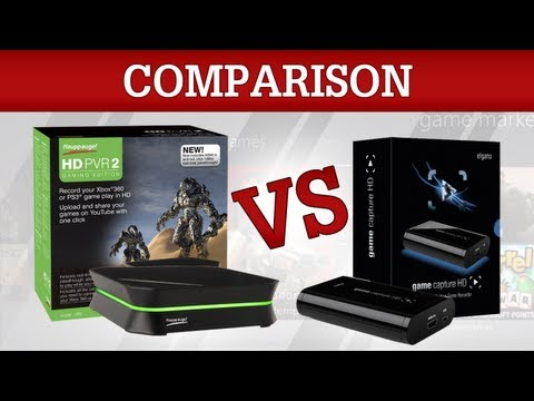 PVR - HD PVR 2 Gaming Edition vs Elgato Game Capture HD Buy Cheap Games Here: https://www.g2a.com/r/cazualluk The best device: http://www.youtube.com/watch?v=6jSf1...