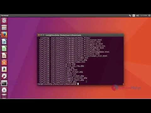How to install Hesk Help desk tool on Ubuntu 17.04