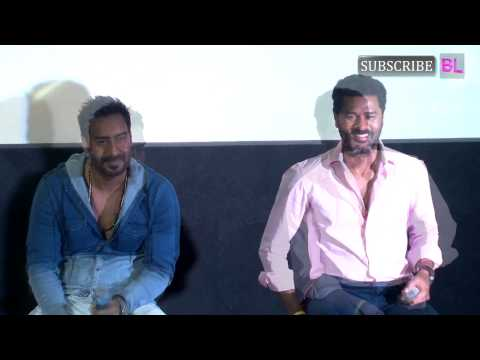 Ajay Devgn Prabhudeva At Action Jackson Song Launc