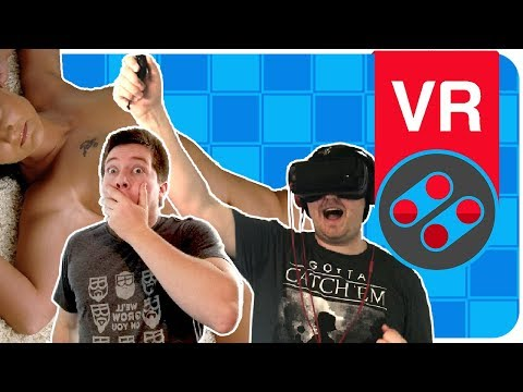 Watching VR PORN In 4D | PornHub - Game Or Bust