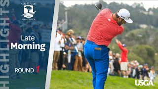 2019 U.S. Open, Round 1: Late-Morning Highlights