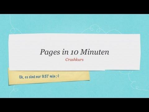 Pages in 10 Minuten #Einführung #Tutorial