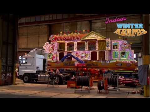 Video Indoor Winterkermis Amsterdam opbouw kermis