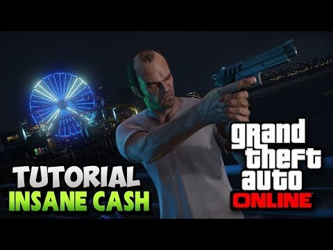 "GTA 5 Online – Insane Money Method – ""MAKE MONEY FAST IN GTA 5 ONLINE"" ! (GTA 5 Money Mission)"