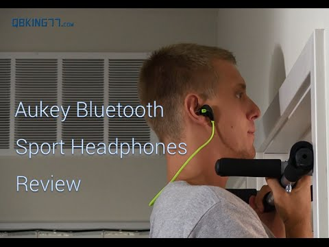 Aukey Bluetooth Sport Headphones: Review and Giveaway