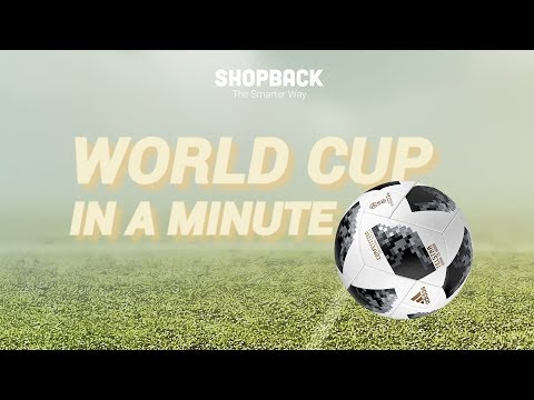 ShopBack Explains the World Cup in a Minute