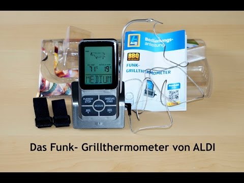 ALDI Funk-Grillthermometer - Der Produkttest