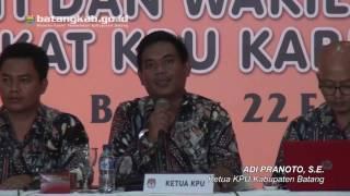 Wihaji-Suyono Dinyatakan Menang dalam Rapat Pleno KPUD Batang