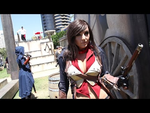Jessica - Jessica Nigri and Angelica Danger Dawn show off their amazingly detailed Assassin's Creedy Cosplay, and talk to Anna about the life of a cosplayer. Visit all of our channels: Features & Reviews...