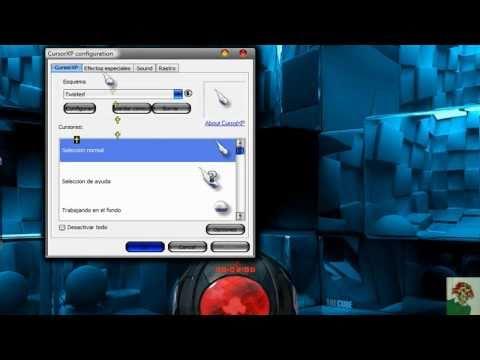 cursores para windows 7 con efectos.  w/ Vista y Xp