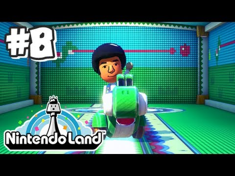 Yoshi - This is my 1080p HD playthrough with live commentary of Nintendo Land for the Nintendo Wii U! In this video I try out the mini game, Yoshi's Fruit Cart! Make...