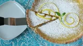 Comment faire une délicieuse tarte au citron ?