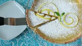 Tarte au citron toute simple