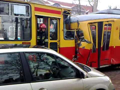 Zderzenie tramwajów w Grudziądzu