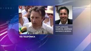 Entrevista a Cuitláhuac García, candidato a gubernatura de Veracruz