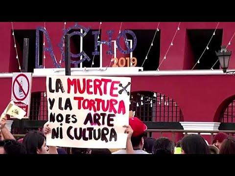 Περού: Διαδηλώσεις για την κατάργηση των ταυρομαχιών