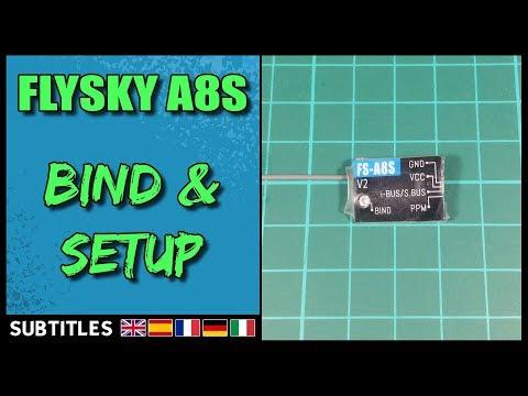FLYSKY FS-A8S - Bind & Betaflight Setup