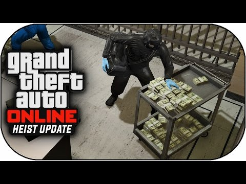 GTA V Heist Online Gameplay – THE FINAL BANK HEIST ! (GTA 5 Heist Online DLC Gameplay)