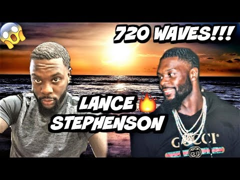 HIGHLY REQUESTED VIDEO: POPPY BLASTED THOUGHTS ON LANCE STEPHENSON 720 WAVES! THE BEST NBA WAVER? (видео)