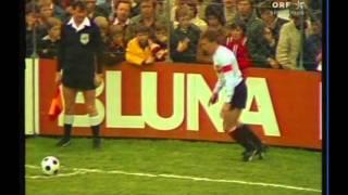 Österreich – Malta 9:0 (30.04.1977)