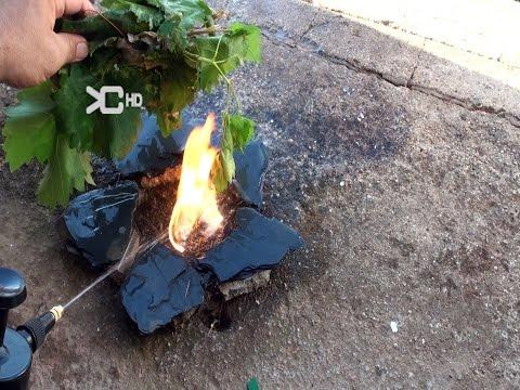 Encender fuego con agua