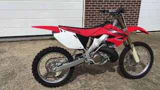 7. Brand New Honda CR 250R 2007